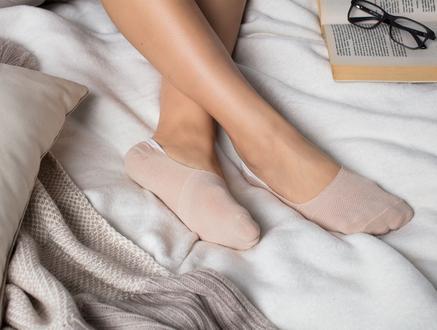 2'li Daily Kadın Babet Çorap - Ten