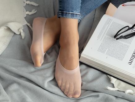 Suba Kadın Babet Çorap - Pudra