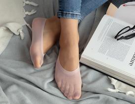 Suba Kadın Babet Çorap - Açık Mürdüm