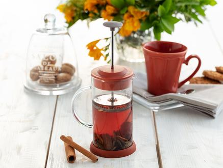 Paule French Press - Turuncu