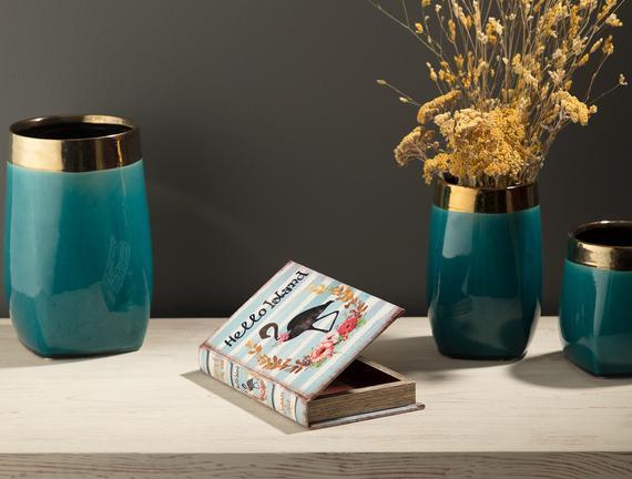 Olivine Çok Amaçlı Kitap Kutusu