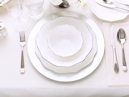 Eliza 16 Parça Yemek Takımı-Platin