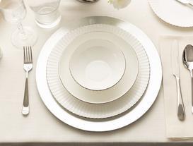 Amelie 16 Parça Yemek Takımı - Platin