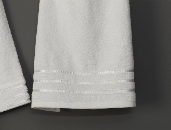 Eliza Kimono Floşlu Kadın Bornoz Seti - Ekru