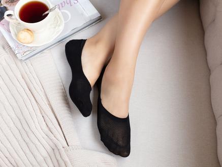 2'li Daily Kadın Babet Çorap - Siyah