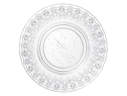Cordeau Serisi  6'lı Pasta Tabağı Seti