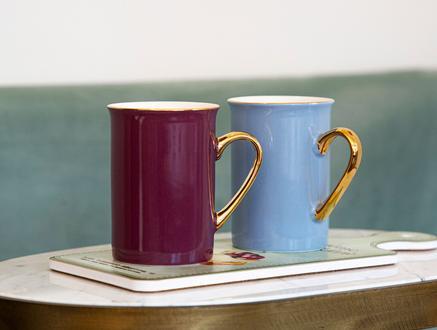 Achiko Porselen Kupa - Soft Mavi