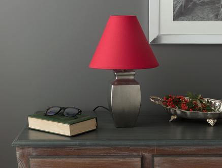 Truculent Cone Abajur Şapkası - Kırmızı