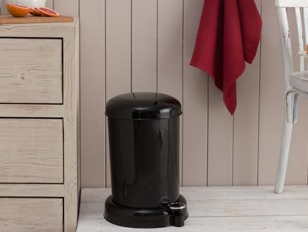 Chic Pedallı Çöp Kovası - Siyah