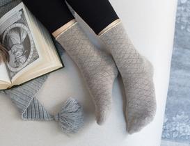 Evelia Kadın Soket Çorap - Bej