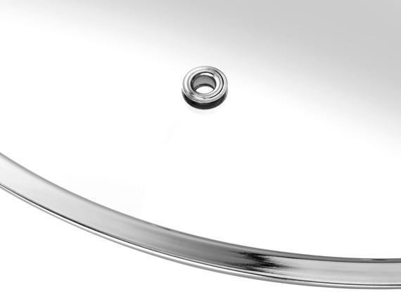 Orva Paslanmaz Çelik Kısa Tencere - 24 cm