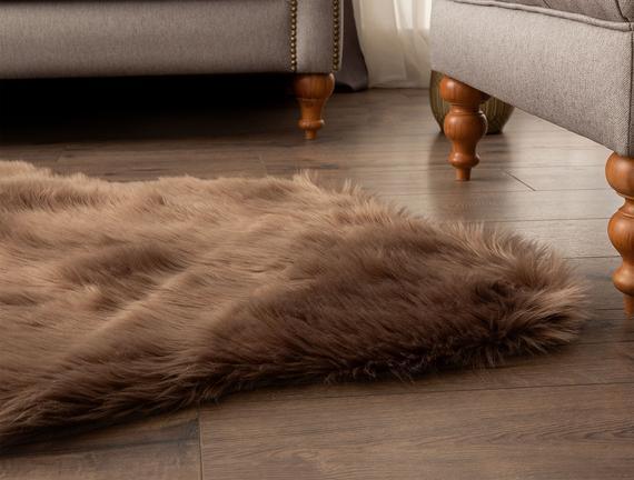 Lela Post Halı - Kahverengi 90x150 cm