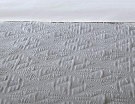 Iven Tek Kişilik Yatak Örtüsü - Gri
