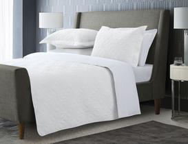 Iven Tek Kişilik Yatak Örtüsü - Beyaz