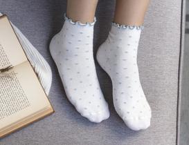 Florida Kadın Soket Çorap - Mavi