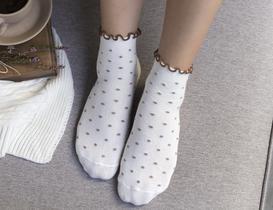 Florida Kadın Soket Çorap - Kahverengi