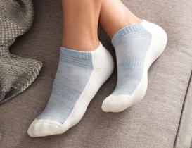 Sports Kadın Patik Çorap - Mavi