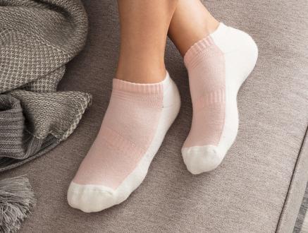 Sports Kadın Patik Çorap - Pudra