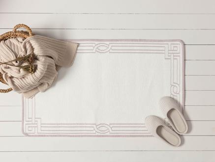 Egebella Çift Taraflı Şönil Kilim - Mürdüm - 60x100 cm