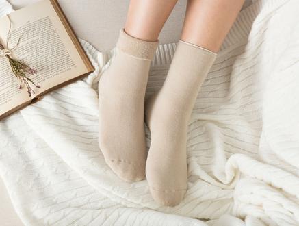 Demeka Kadın Soket Çorap - Bej