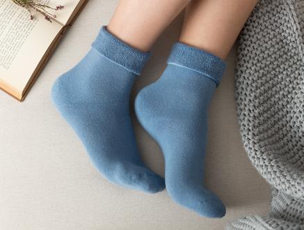 Demeka Kadın Soket Çorap - Mavi