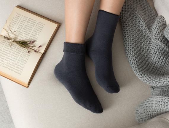 Demeka Kadın Soket Çorap - Antrasit