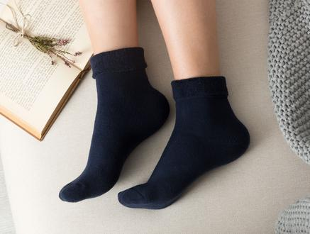Demeka Kadın Soket Çorap - Lacivert