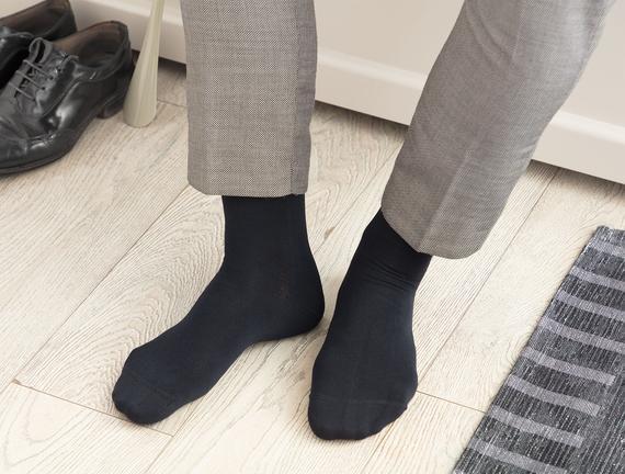 Anageta Bambu Erkek Soket Çorap - Lacivert