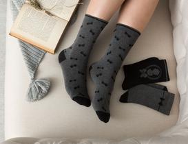 Maison Kadın 3'lü Soket Çorap - Siyah