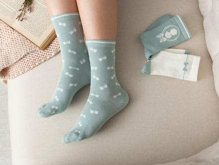 Maison Kadın 3'lü Soket Çorap - Yeşil