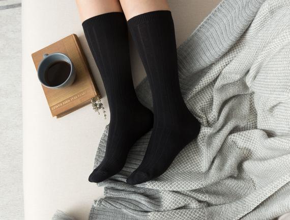 Voie Kadın Soket Çorap - Siyah