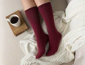 Voie Kadın Soket Çorap - Bordo