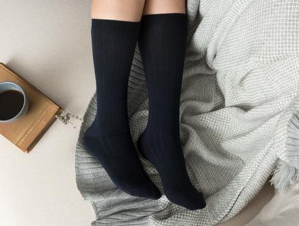 Voie Kadın Soket Çorap - Lacivert
