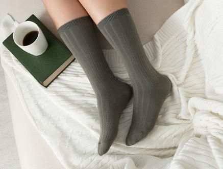 Voie Kadın Soket Çorap - Haki