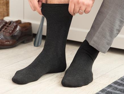 Anageta Bambu Erkek Soket Çorap - Antrasit