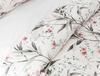 Fleur Ranforce Baskılı Çift Kişilik Nevresim Takımı - Somon