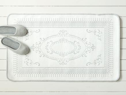 Rachelle Çift Taraflı Şönil Kilim - Gri - 60x100 cm