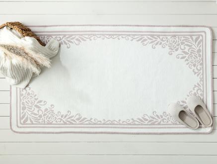Saville Çift Taraflı Şönil Kilim - Mürdüm - 80x150 cm