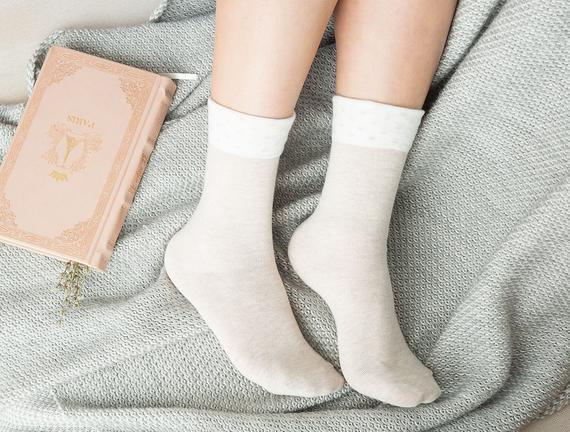 Dianna Kadın Soket Çorap - Bej