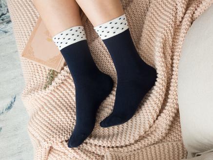 Dianna Kadın Soket Çorap - Lacivert