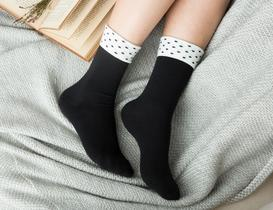 Diamanta Kadın Soket Çorap - Siyah