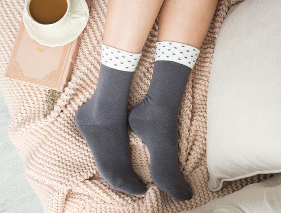 Dianna Kadın Soket Çorap - Antrasit