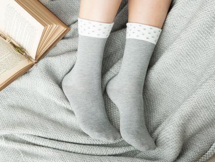 Dianna Kadın Soket Çorap - Gri