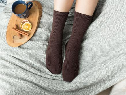 Jeanne Kadın Soket - Kahverengi