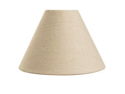 Détendre Cone Abajur Şapkası - Açık Kahve