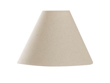 Précieux Cone Abajur Şapkası - Bej