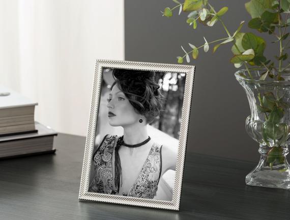 Gastonne Çerçeve-Gümüş