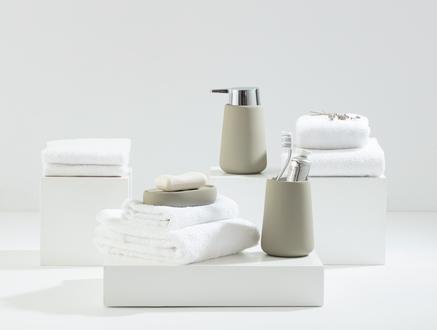 Raina 3'lü Banyo Seti - Taş