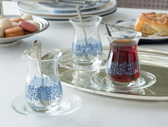 Lela 6'lı Çay Bardağı 168 ml