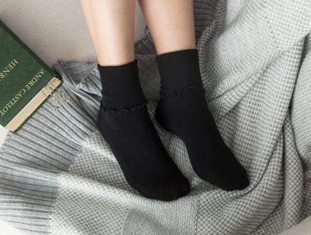 Chantalle Kadın Soket Çorap - Siyah